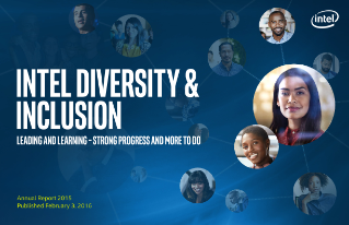Intel Diversity and Inclusion Annual Report 2015