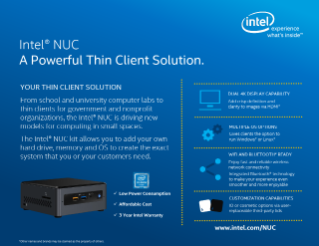 A Powerful Thin Client Solution
