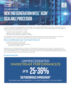 2nd Gen Intel® Xeon® Scalable Processor Transition Guide