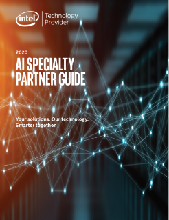 Artificial Intelligence (AI) Specialty Benefits Partner Guide