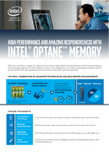 Intel® Optane™ Memory: Channel Opportunity Guide