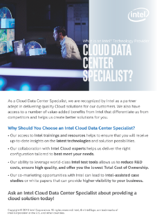 Partner with a Cloud Data Center Specialist