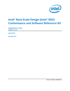 Intel® Rack Scale Design (Intel® RSD) Conformance and Software Reference Kit Getting Started Guide