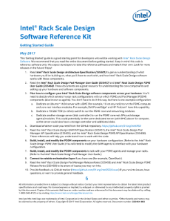 Software Getting Started Guide