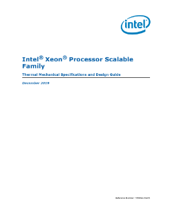 Intel® Xeon® Processor Scalable Family Thermal Guide
