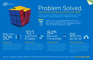 Bandwidth Problem Solved with 10 GbE Intel® Ethernet