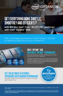 Intel® Optane™ SSDs for Mainstream PCs