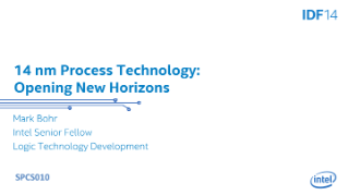 Intel Custom Foundry: 14 nm Process Technology Opens New Horizons