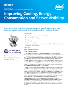 Improving Cooling, Energy Consumption, and Server Visibility