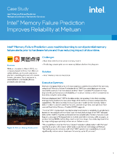 Intel® Memory Failure Prediction Improves Reliability at Meituan