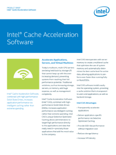 Intelligent Caching Accelerates Application Performance