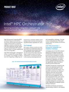 Solution Brief: New Possibilities for the Data Driven HPC Organization