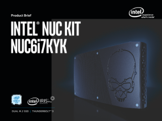 Intel® NUC Kit NUC6i7KYK Product Brief