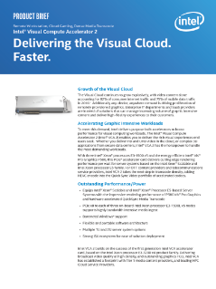 Intel® Visual Compute Accelerator 2 Brief