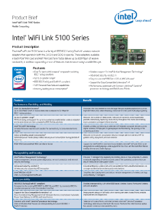 Intel WiFi Link 5100 Series