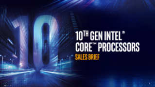 10th Gen Intel® Core™ Processors Sales Brief