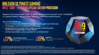 Intel® Core™ i9-9900KS Special Edition Processor Sales Brief
