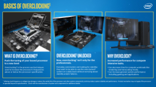 Overclocking for Entry and Mainstream Sales Brief