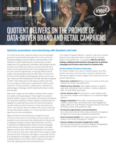 Quotient Delivers on the Promise of Data-Driven Brand and Retail Campaigns