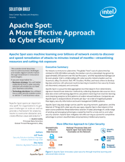 Apache Spot: A More Effective Approach to Cyber Security