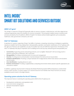 ARDIC IoT Ignite* with Intel® IoT Gateways