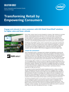 Transforming Retail by Empowering Consumers