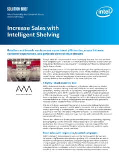 Increase Sales with Intelligent Shelving