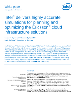 Intel CoFluent™ Technology Optimizes Ericsson* Cloud Solutions