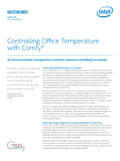 Controlling Office Temperature with Comfy*