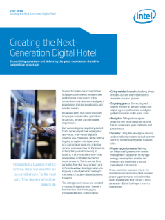 Hospitality Technology – Creating the New Digital Hotel