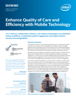 Mobile Technology Helps Transform Patient Care and Cut Costs