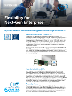 Build a Better Network with Ethernet Technology from Intel