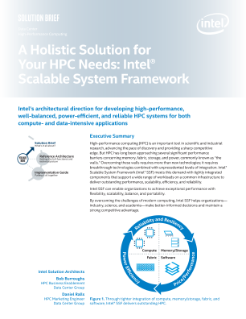 Holistic Solution for HPC Infrastructure