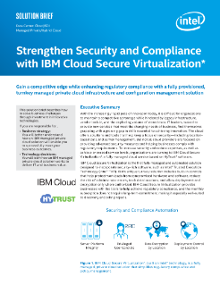 IBM's Cloud Secure Virtualization*