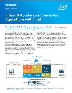 Infiswift IoT Platform for Agriculture - Intel