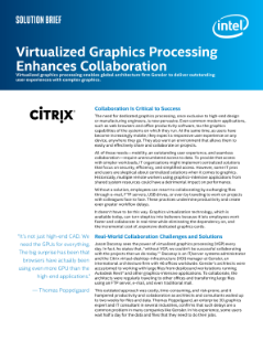 Summary: Virtualized Graphics Processing Enhances Collaboration