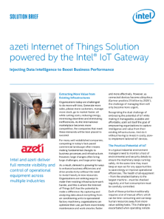 azeti IoT Solution Injects Data Intelligence to Boost Business