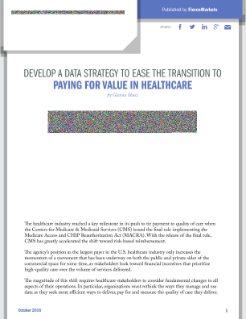Paying for Value in Healthcare: A Data Strategy