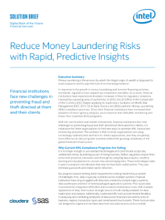 Insights Reduce Money Laundering Risks
