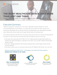 The Right Healthcare Device Does More