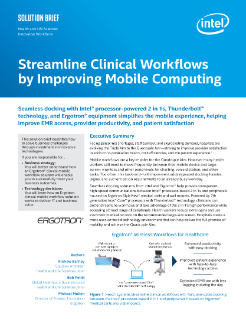 Mobile Technology Improves Patient Care and Clinical Workflow