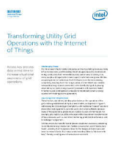 Transforming Utility Grid Operations with the Internet of Things