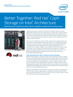 Solution Brief  Enterprise Ceph Solutions from Intel and Red Hat
