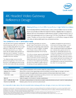Making it easy to cost-effectively deliver high definition video