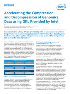 Speeding up Genomics Applications with Faster Compression