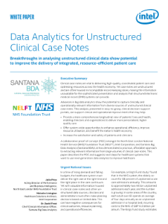 Data Analytics for Unstructured Clinical Case Notes