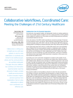 Collaborative Care to Meet 21st Century Healthcare Challenges