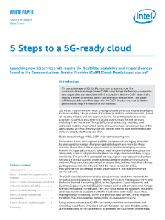 5 Steps to a 5G-Ready Cloud
