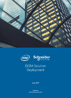 DCIM Schneider Electric Solution Deployment Survey