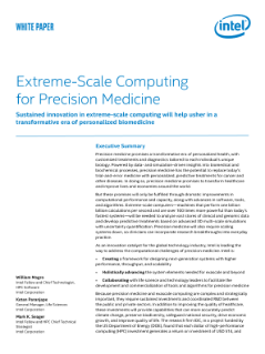Extreme-Scale Computing for Precision Medicine